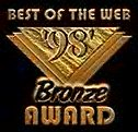 Best of the Web Bronze Award