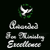 Awarded for Ministry Excellence