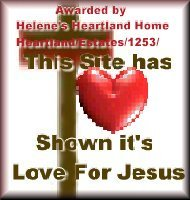 Helene's Love for Jesus award